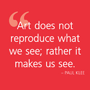 Art does not reproduce...